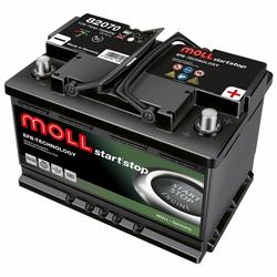 MOLL EFB 82070 70Ah Autobatterie