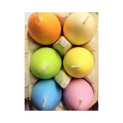 Amabiente Kerzenhalter bunte Eierkerzen UOVO im Eierkarton
