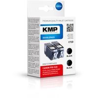 KMP C72 kompatibel zu Canon PGI-520BK schwarz 2er Pack