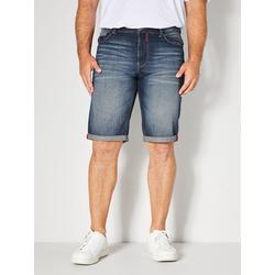 Jeans Bermuda Men Plus Dark blue