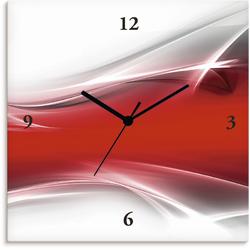 Wanduhr »Kreatives Element«, Wanduhren, 94808413-0 rot rot
