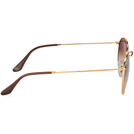 Ray Ban Round Metal RB3447 9001A5 50-21 polished bronze-copper/pink/brown gradient