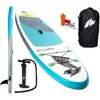 F2 Inflatable SUP-Board F2 Surf's Up Kids, (4 tlg), ohne Paddel 9,2 - 280 cm