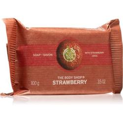 The Body Shop Strawberry natürliche feste Seife 100 g