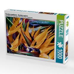 Paradiesvogelblume - Strelitzia reginae Lege-Größe 64 x 48 cm Foto-Puzzle Bild von Dieter Meyer Puzzle