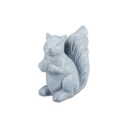 relaxdays Gartenfigur Eichhörnchen Deko für den Garten