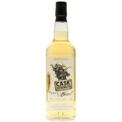 Peat's Beast Cask Strength 0,7L (52,1% Vol.) - Peat's Beast - Whisky