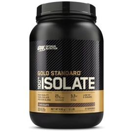 Optimum Nutrition 100% Gold Standard Whey Isolate Chocolate Pulver 930 g