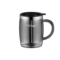 Alfi Thermo-Tasse Desktop Mug in grau, 0,35 l