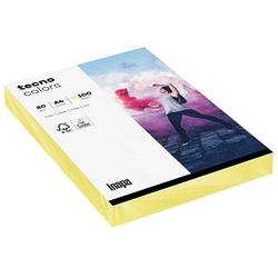 tecno Kopierpapier colors hellgelb DIN A4 80 g/qm 100 Blatt