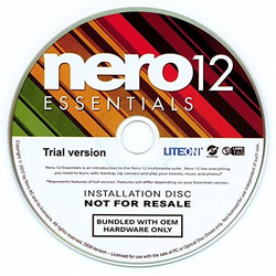 Nero 12 Essentials OEM, CD im PaperCase