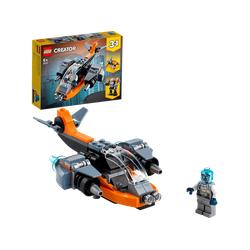 LEGO 31111 Cyber Drohne Bausatz, Mehrfarbig