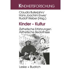 Kinder - Kultur als Buch von Claudia Bullerjahn/ Hans-Joachim Erwe/ Rudolf Weber