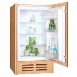 PKM Einbaukühlschrank KS 130.0A++ EB, 88 cm hoch, 54 cm breit, Vollraumkühlschrank Schleppscharnier 130 Liter A++