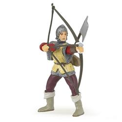 papo Spielfigur Roter Bogenschütze mit Hellebarde