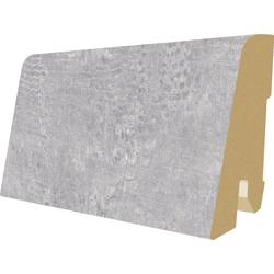 EGGER Sockelleiste L479 - Adana Wood grau, L: 240 cm, H: 6 cm