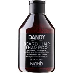 DANDY Beard & Hair Shampoo Shampoo für Haare und Bart 300 ml
