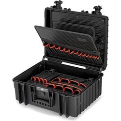 Knipex Robust 34 00 21 36 LE Elektriker Werkzeugkoffer unbestückt