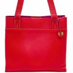 Mywalit Vancouver Torba shopper skórzana 32 cm red