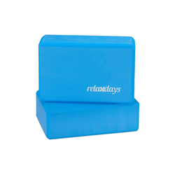 relaxdays Yogablock Yogablock im 2er Set