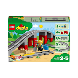 LEGO® Konstruktions-Spielset LEGO® DUPLO® 10872 Eisenbahnbrücke und Schienen
