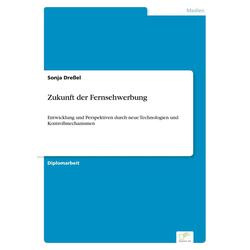Zukunft der Fernsehwerbung als Buch von Sonja Dreßel