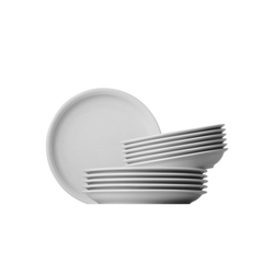 Thomas Porzellan Tafelservice Trend (12-tlg), Porzellan, Mikrowellengeeignet