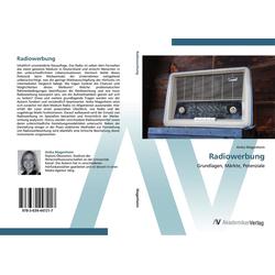 Radiowerbung als Buch von Anika Magenheim