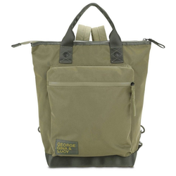 George Gina & Lucy Rucksack Nylon Roots Solid grün
