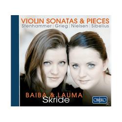 Skride,Lauma/Skride,Baiba - Violinsonaten & Stücke (CD)