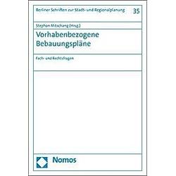 Vorhabenbezogene Bebauungspläne - Buch