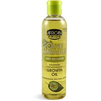 African Pride Olive Miracle Maximum Strengthening Growth Oil 237 ml