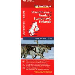 Michelin Skandinavien - Finnland 1 : 1 500 000