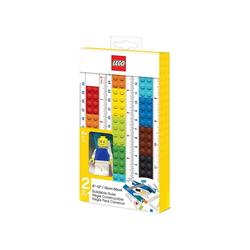 LEGO® Malstift Lineal LEGO, zum Selbstbauen, 15-30 cm