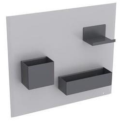 Geberit Magnettafel 449 x 388 x 75 mm, mit Stauboxen weiß matt