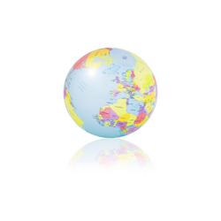 PI-PE Badekappe PI-PE Strandball Wasserball Weltkugel Globus