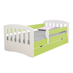 Łóżeczko dziecięce Pamma zielone