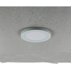 LED Panel rund 16,5cm 12W 800lm 55-125mm Einbauöffnung dimmbar 2700-6000K EEK: A+