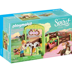 Playmobil® Konstruktions-Spielset Pferdebox Abigail & Boomerang (9480), Spirit Riding Free
