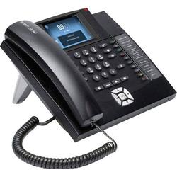 Auerswald COMfortel 1400IP Systemtelefon,VoIP Freisprechen, Headsetanschluss Touch-Farbdisplay Schwa
