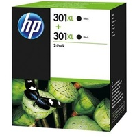 HP 301XL schwarz 2er Pack (D8J45AE)