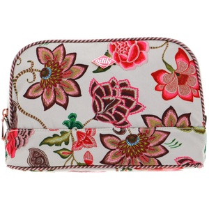 Oilily Royal Sits Cosmetic Bag M Oatmeal