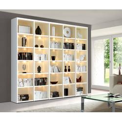 Wohnwand Bücherregal STUDIO individuell planbar