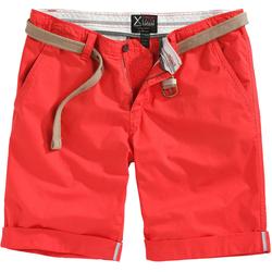Surplus Chino Korte broek, rood, 2XL