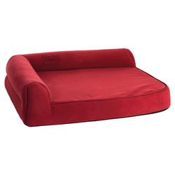Karlie Hundebett Ortho Visco eckig rot, Maße: 60 x 48 x 21 cm