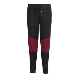 Jogginghose Men Plus Schwarz/Bordeaux
