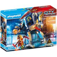Playmobil City Action Polizei-Roboter 70571