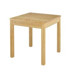 ERST-HOLZ Küchentisch Tisch Esstisch Massivholztisch Küchentisch Kiefer Massiv glatte Beine 90.70-50 A
