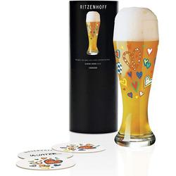 Ritzenhoff Longdrinkglas Ritzenhoff Weizen Weizenbierglas Bierglas U. Vater, Glas