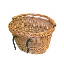 "Basil Fahrradkorb BASIL V.R.-Weidenkorb ""Denver"" Maße: B37 x L27 x"